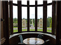 SK8932 : View through the oriel window in the Dining Room by Alan Murray-Rust
