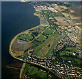 NT3473 : Musselburgh Race Course from the air by Thomas Nugent