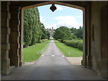 SK8932 : The Manor from the gatehouse by Alan Murray-Rust