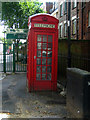 TQ3184 : K2 telephone box, Upper Street by Julian Osley