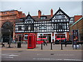 SJ4066 : Listed Phone Boxes, Northgate Street, Chester by Bill Harrison