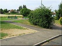 TF3242 : Play area off Edison Way by Alex McGregor
