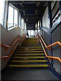 TQ2182 : Stairs, Willesden Junction Railway Station by Robin Sones