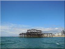 TQ3003 : West Pier by Paul Gillett