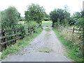 SP4408 : Footpath - Oxford Road by Betty Longbottom
