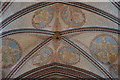 SU1429 : Painted ceiling, Salisbury Cathedral by Julian P Guffogg