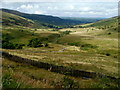 SN9720 : View north from the A470 west of Storey Arms by Jaggery