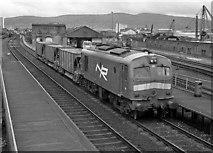 J3574 : Engineer's train at Bridge End station - 1991 by The Carlisle Kid