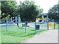 SP5006 : Play Area - Botley Park by Betty Longbottom