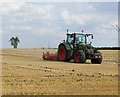 SE9917 : After the Harvest on Saxby Wolds by David Wright