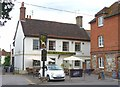 SU0931 : The Greyhound, Wilton by Mike Smith