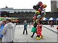 C4316 : Balloon seller, Derry / Londonderry by Kenneth  Allen