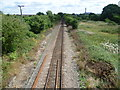 TQ7874 : Railway at Sharnal Street by Marathon