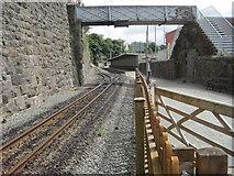SH4862 : Caernarfon WHR railway station by Nigel Thompson