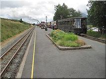 SH5752 : Rhyd Ddu railway station, Gwynedd by Nigel Thompson