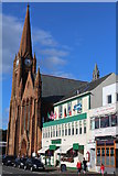 NS2059 : St Columba's Parish Church, Largs by Leslie Barrie