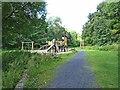 NO2348 : Children's playground in the Den o'Alyth by Oliver Dixon