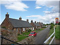 NT4677 : Rural East Lothian : Cottages At Spittal by Richard West