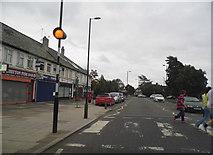 TQ1373 : Zebra crossing on Nelson Road, Whitton by David Howard