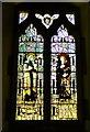 SO7433 : Kempe glass, Bromsberrow by Philip Pankhurst