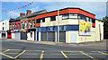 J3674 : Shops near the Holywood Arches, Belfast (2013) by Albert Bridge