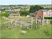 SE0913 : Stile on the Colne Valley Circular Walk by Humphrey Bolton