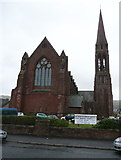 NS2059 : Clark Memorial Church, Largs by Humphrey Bolton