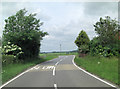 TM0150 : B1078 south of Bush Farm by Stuart Logan