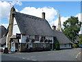 TL2871 : Axe and Compass, Hemingford Abbots by Richard Humphrey