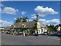 TL2872 : Village pub in Houghton near Huntingdon by Richard Humphrey