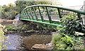 J3269 : New footbridge, Clement Wilson Park, Newforge, Belfast (2013-1) by Albert Bridge