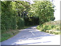 TM3069 : Badingham Road by Adrian Cable