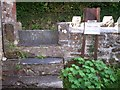 SN1107 : Stile at Begelly Church by welshbabe