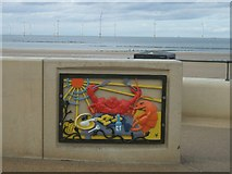 NZ6025 : Seafood on the menu on Redcar seafront by John M