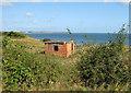 TA1476 : Brick structure on Boat Cliff by Pauline E