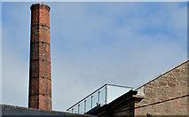 J4569 : Former mill chimney, Comber by Albert Bridge