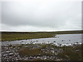 NY7328 : The outlet of Great Rundale Tarn by Karl and Ali
