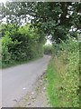 ST5967 : East Dundry Road looking uphill from Whitchurch by Dr Duncan Pepper
