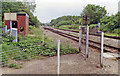 SO8110 : Site of former Haresfield station, 1993 by Ben Brooksbank