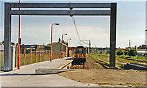 TM2532 : Harwich Town, terminus, 1997 by Ben Brooksbank