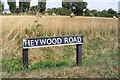 TM1185 : Heywood Road sign by Adrian Cable