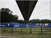 TA0225 : The Humber Bridge from Hessle foreshore by Ian S