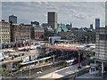 SJ8499 : Manchester Victoria Station (2013) by David Dixon
