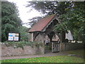 NZ1014 : Lych Gate at St Mary's Church in Whorlton by peter robinson