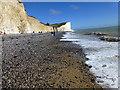 TV5596 : Beach near Birling Gap, Sussex by PAUL FARMER
