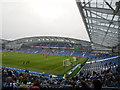 TQ3508 : South Stand - Amex Stadium by Paul Gillett