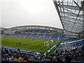 TQ3508 : South Stand - Amex Stadium by Paul Gillett