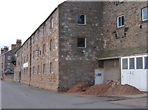 NU0052 : The Old Maltings during development by Barbara Carr