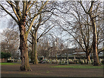 TQ3282 : Bunhill Fields Cemetery, City Road (2) by Stephen Richards