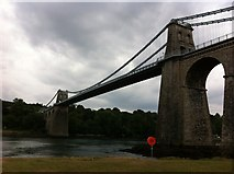 SH5571 : Menai Bridge by Mr M Evison